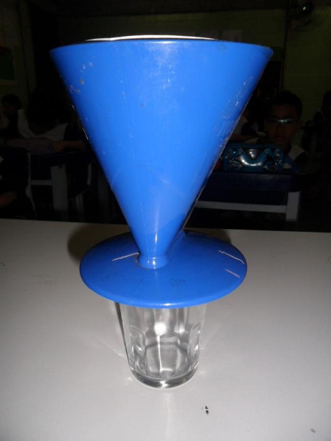 A primeira parte da atividade conta com a filtragem feita pelo rim