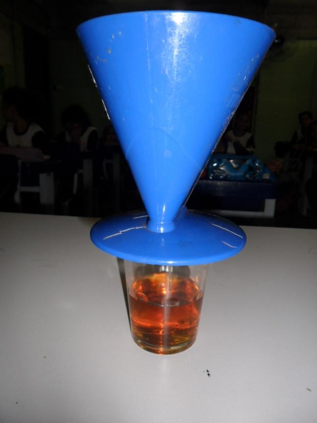 Com a filtragem em andamento, podemos ver o resultado do trabalho do rim, a produção de urina