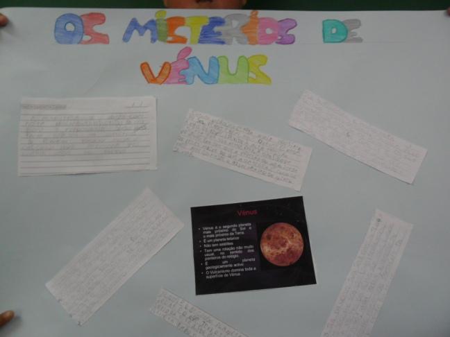 Também vimos curiosidades sobre Vênus