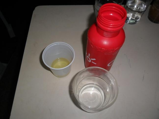 Água e óleo