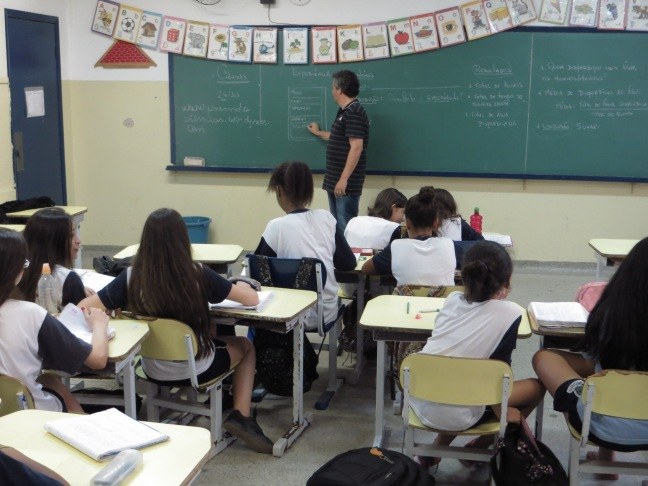 Na sala de aula, a segunda etapa: produzir relatório