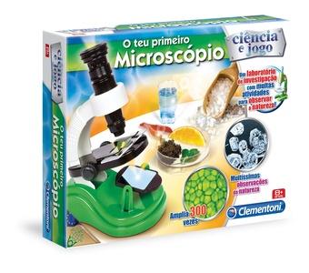 Com esse microscópio, já dá pra se sentir um pouco cientista né? :D